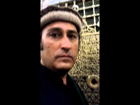 Masood khan niazi in kaba mecca and Roza pak (saw)
