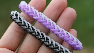 getlinkyoutube.com-Rainbow Loom Nederlands, French Braid armband