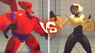 getlinkyoutube.com-Ultra street fighter 4 PC - Go Go Tomago VS Baymax