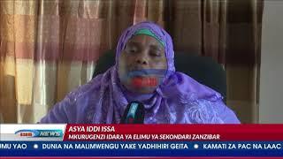 Matokeo mabovu ya kidato cha nne visiwani Zanzibar