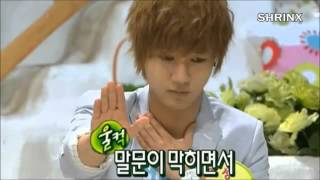 getlinkyoutube.com-[ Super Junior ] Yesung imitate Donghae 's crying