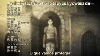 Shingeki no Kyojin Encerramento - FULL  HD Legendado