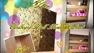 getlinkyoutube.com-Cardboard Wall Mounted Cabinets D.I.Y