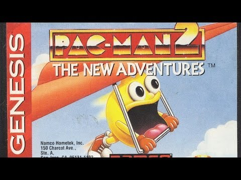 Classic Game Room HD - PAC MAN 2 for Sega Genesis review