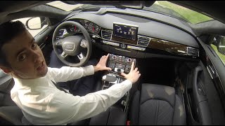 getlinkyoutube.com-2015 Audi A8L Road Test and Review