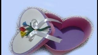 getlinkyoutube.com-Caja Corazón en Goma Eva Para San Valentin