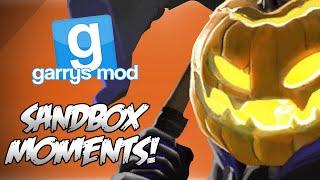 GMod Sandbox Funny Moments! - HALLOWEEN SPECIAL!