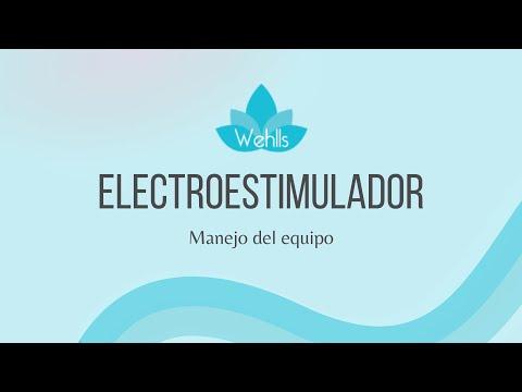 ELECTROESTIMULADOR CON IONTOFORESIS ONDAS RUSAS T.E.N.S. PROFESIONAL WEHLLS