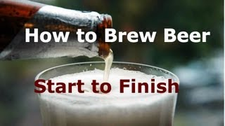 getlinkyoutube.com-How to Brew Beer at Home: Start to Finish. Tips & Tricks. For the Beginner or Expert