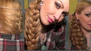 getlinkyoutube.com-Trenza Sirena FRANCESA peinado bonito y facil Moda 2013