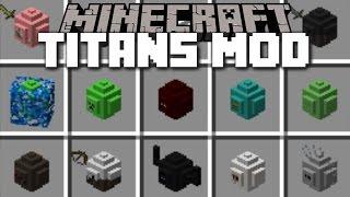 Minecraft MOB TITAN MOD / SPAWN HUGE TITANS IN MINECRAFT!! Minecraft
