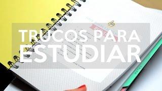 getlinkyoutube.com-Trucos para estudiar y organizarse | Jess Carter