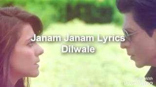 getlinkyoutube.com-اغنية janam janam من فلم dilwalie مترجمه