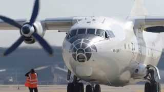 getlinkyoutube.com-Start up Antonov 12 Kavok Cargo