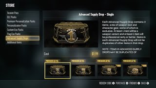 How to Get FREE Advanced Supply Drops in Call of Duty: Advanced Warfare