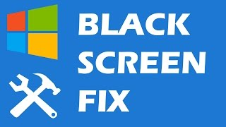 getlinkyoutube.com-Windows 10 Black Screen with cursor fix