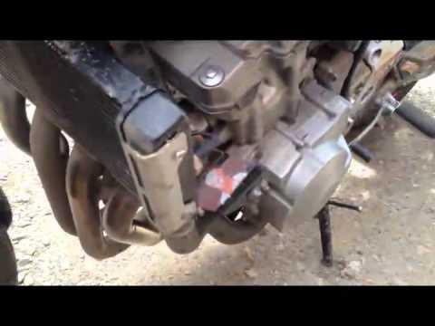 Замена антифриза на мотоцикле HONDA