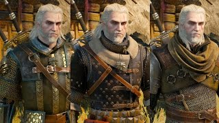 getlinkyoutube.com-The Witcher 3 Wild Hunt - All Witcher Gear Sets Showcase (Looks & Stats)
