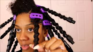 getlinkyoutube.com-CWK Girls SSS Spiral Plates | Heatless Curls