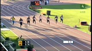 getlinkyoutube.com-Top 10 fastest 100m runners of all time (men)