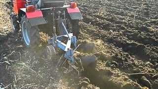 getlinkyoutube.com-Мини-трактор из мотоблока Кентавр 12л.с.