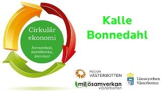 Miljösamverkan - Inspirerande halvdag om cirkulär ekonomi - Kalle Bonnedahl