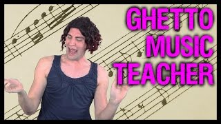 Ghetto Music Teacher | Sheedra #SheedraGoesToWork