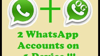 getlinkyoutube.com-How to use 2 WhatsApp Accounts on the Same Phone | Dual SIM *no Root Required Easy Install