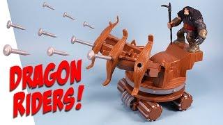 getlinkyoutube.com-How to Train Your Dragon Riders New Drago & War Machine Review