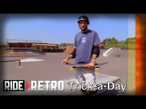How-To: Shove-It with Tony Hawk & Kris Markovich - Retro Trick-a-Day