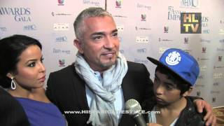 getlinkyoutube.com-Cesar Milan with Yahaira and Son, Hispanic Lifestyle