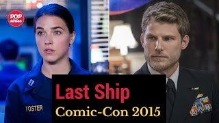 SDCC 2015: Marissa Neitling e Travis Van Winkle de The Last Ship