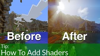 getlinkyoutube.com-How To Install Shaders Into Minecraft 1.8.9