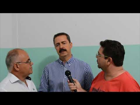 Itamar Borges visitou Palestina SP