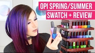 OPI FIJI COLLECTION SWATCH + REVIEW || KELLI MARISSA