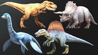 getlinkyoutube.com-3D Dino - Size Comparison (20 Dinosaurs) | Eftsei Gaming