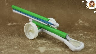 getlinkyoutube.com-How to make a Paper Cannon - Airsoft Gun - (Very Powerful)