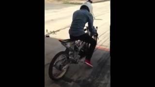 getlinkyoutube.com-Wave 125 (drag bike)