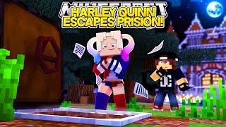 getlinkyoutube.com-Minecraft Adventure - HARLEY QUINN ESCAPES FROM PRISON!!!