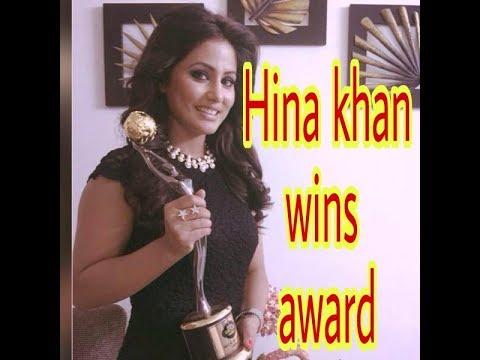 Download Thumbnail For Hina Khan Big Boss 11 Hina Khan Win Award
