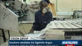 Tosubwa akatabo ka Uganda Argus