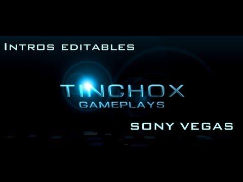 Intros editables Sony vegas pro 11 + Como editarlas