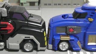 getlinkyoutube.com-터닝메카드 메가스파이더 vs 메가테릭스 장난감 Turnung Mecard Toys