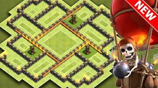 "Clash Of Clans - ""NEW!"" BEST TOWN HALL 7 (TH7) HYBRID BASE w/3 Air Defenses 