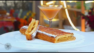 getlinkyoutube.com-Choumicha : Feuilleté à la confiture et crème d'amande  شميشة : مورقة بالمربى وكريمة اللوز