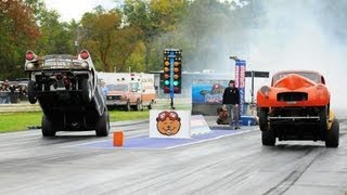 getlinkyoutube.com-Jalopy Showdown Drags 2012 - Wheelie Contest!