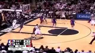 getlinkyoutube.com-2005 NBA Finals - Detroit vs San Antonio - Game 7 Best Plays