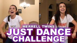 getlinkyoutube.com-Just Dance Challenge - Merrell Twins