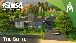 getlinkyoutube.com-The Sims 4 House Building - The Butte (Collab with Anset 4 Sims)