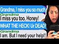 Talking To My Dead Grandmother At 3 AM?!?! -  Tap | Texting My Dead Grandmotherr